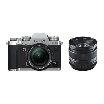 Für weitere Info hier klicken. Artikel: Fujifilm X-T3 mit XF18-55mm F2.8-4 R LM OIS + XF 2,8/14 R silber-