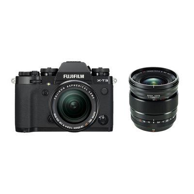 Für weitere Info hier klicken. Artikel: Fujifilm X-T3 mit XF18-55mm F2.8-4 R LM OIS + XF 1,4/16 R WR schwarz