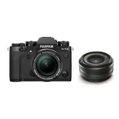 Für weitere Info hier klicken. Artikel: Fujifilm X-T3 mit XF18-55mm F2.8-4 R LM OIS + XF 2,0/18 R schwarz
