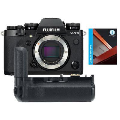 Für weitere Info hier klicken. Artikel: Fujifilm X-T3 + VG-XT3 + Capture One Pro 12 schwarz