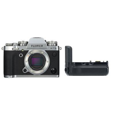 Für weitere Info hier klicken. Artikel: Fujifilm X-T3 + VG-XT3 silber Fujifilm X