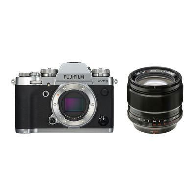 Für weitere Info hier klicken. Artikel: Fujifilm X-T3 + XF 1,2/56 R APD silber Fujifilm X