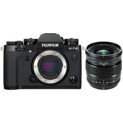 Für weitere Info hier klicken. Artikel: Fujifilm X-T3 + XF 1,4/16 R WR schwarz