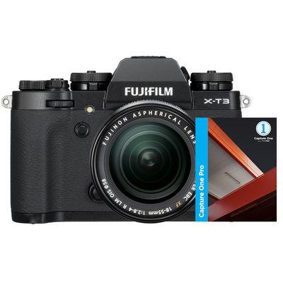 Für weitere Info hier klicken. Artikel: Fujifilm X-T3, XF 18-55 + Capture One Pro 12 schwarz