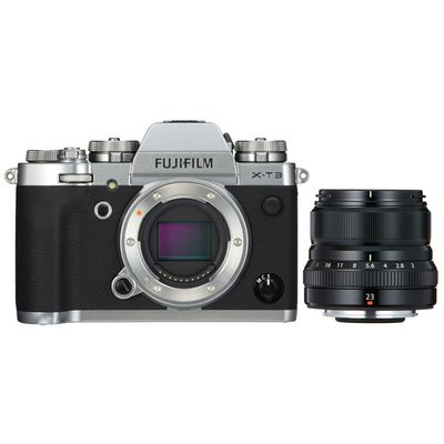 Für weitere Info hier klicken. Artikel: Fujifilm X-T3 + XF 2,0/23 mm WR silber-schwarz