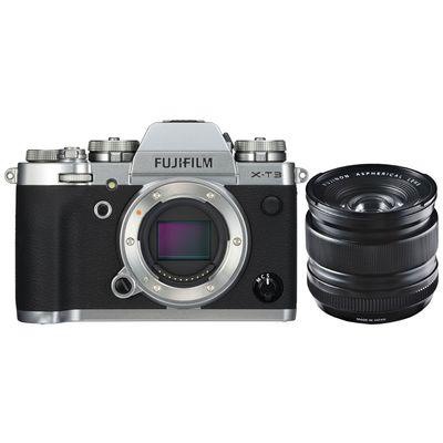 Für weitere Info hier klicken. Artikel: Fujifilm X-T3 + XF 2,8/14 R silber