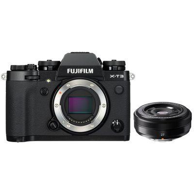 Für weitere Info hier klicken. Artikel: Fujifilm X-T3 + XF 2,8/27 schwarz