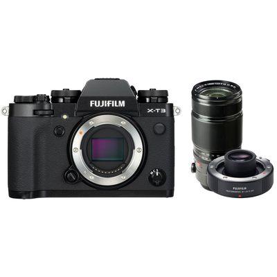 Für weitere Info hier klicken. Artikel: Fujifilm X-T3 + XF 2,8/50-140 R LM OIS WR + TC XF 1.4X schwarz Fujifilm X