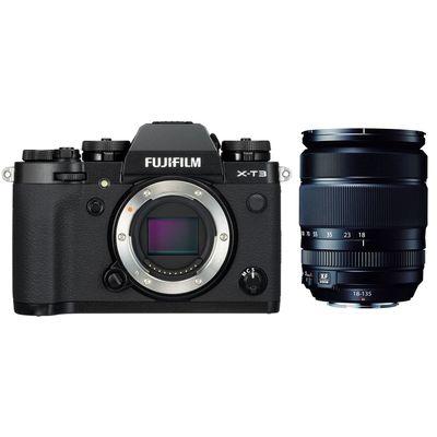 Für weitere Info hier klicken. Artikel: Fujifilm X-T3 + XF 3,5-5,6/18-135 R OIS WR schwarz Fujifilm X