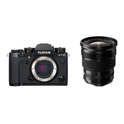 Für weitere Info hier klicken. Artikel: Fujifilm X-T3 + XF 4,0/10-24 R OIS schwarz Fujifilm X