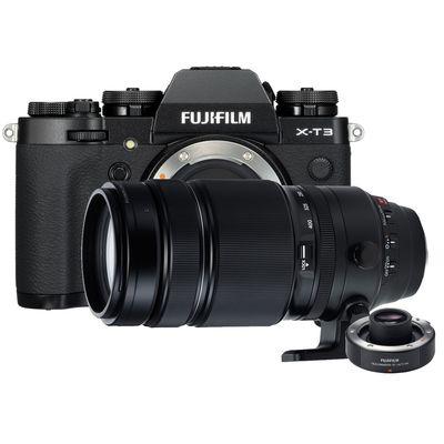 Für weitere Info hier klicken. Artikel: Fujifilm X-T3 + XF 4,5-5,6/100-400 RLM OIS WR + TC XF 1.4X WR schwarz Fujifilm X