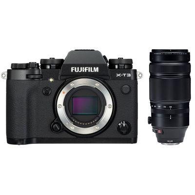 Für weitere Info hier klicken. Artikel: Fujifilm X-T3 + XF4,5-5,6/100-400 RLM OIS WR schwarz Fujifilm X