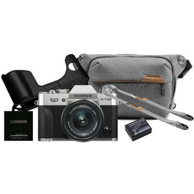 Für weitere Info hier klicken. Artikel: Fujifilm X-T30 + XC 15-45mm - Design Kit silber