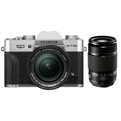Für weitere Info hier klicken. Artikel: Fujifilm X-T30, XF 18-55 R LM OIS + XF 55-200mm f/3,5-4,8 R LM OIS Fujifilm X silber