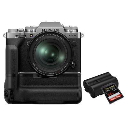 Für weitere Info hier klicken. Artikel: Fujifilm X-T4 + XF 16-80mm - Power Kit silber