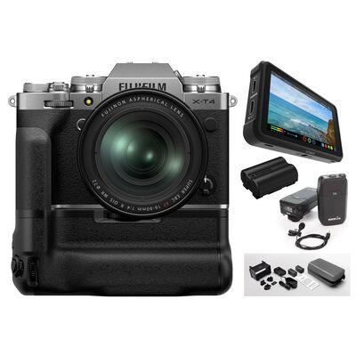 Für weitere Info hier klicken. Artikel: Fujifilm X-T4 + XF 16-80mm - Videokit für Profis silber