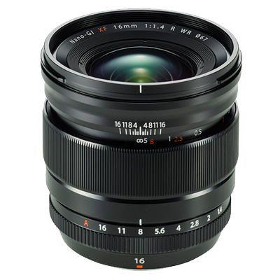 Für weitere Info hier klicken. Artikel: Fujifilm XF 16mm f/1,4 R WR schwarz Fujifilm X