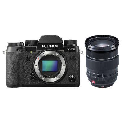 Für weitere Info hier klicken. Artikel: Fujifilm XT-2 mit XF 2,8/16-55 R LM WR schwarz