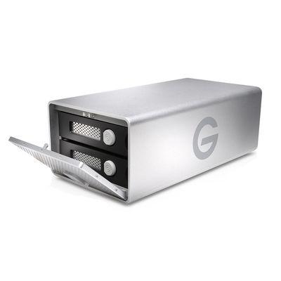 Für weitere Info hier klicken. Artikel: G-technology G-Raid mit Thunderbolt 3 USB-C silber 20 TB