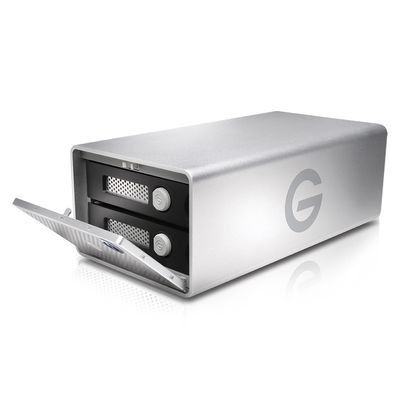 Für weitere Info hier klicken. Artikel: G-technology G-RAID Remov. Thunderbolt 3 HDD Dual-Festplatte silber 12 TB