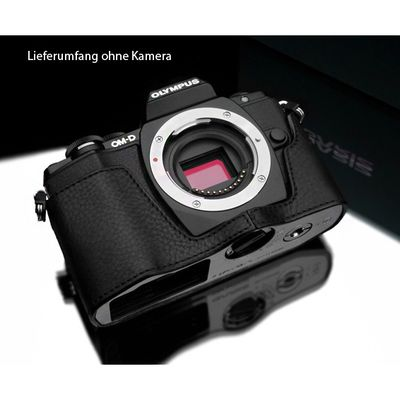 Für weitere Info hier klicken. Artikel: Gariz Halbtasche für Olympus OMD E-M10 / Mark II black