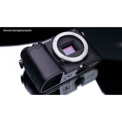 Für weitere Info hier klicken. Artikel: Gariz Halbtasche für Sony CyberShot NEX-6 black