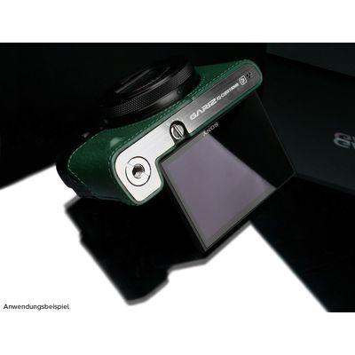 Für weitere Info hier klicken. Artikel: Gariz Half Case für RX100M6 grün