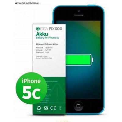 Für weitere Info hier klicken. Artikel: Giga Fixxoo iPhone 5C Akku