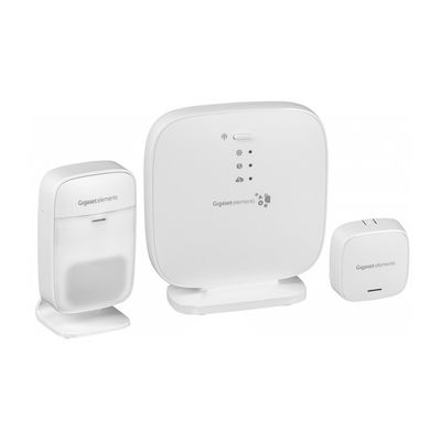 Für weitere Info hier klicken. Artikel: GIGASET Smart Home elements safety Starter Kit weiß