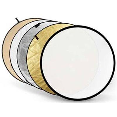 Für weitere Info hier klicken. Artikel: Godox 5-in-1 Gold, silber, Soft Gold, weiß, Transluzent 110cm