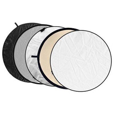Für weitere Info hier klicken. Artikel: Godox 5-in-1 Soft Gold, silber, Black, weiß, Transluzent - 110cm