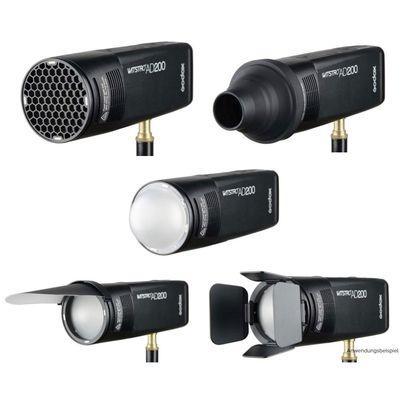 Für weitere Info hier klicken. Artikel: Godox Accessories Kit AK-R1 für AD200 / V1 / R1