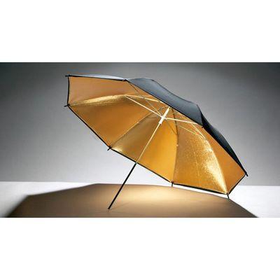 Für weitere Info hier klicken. Artikel: Godox Blitzschirm gold-schwarz 84cm