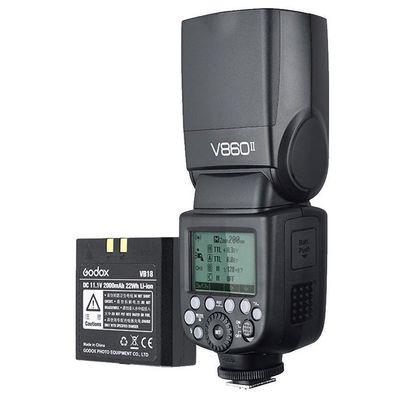 Für weitere Info hier klicken. Artikel: Godox Speedlite V860II Kit Canon
