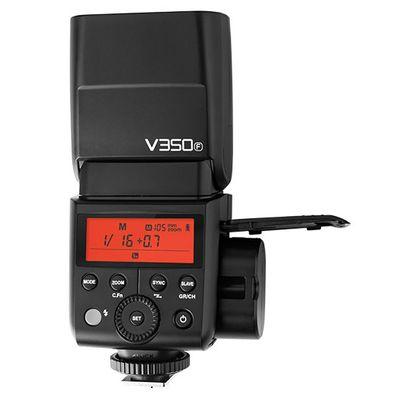 Für weitere Info hier klicken. Artikel: Godox Speedlite Ving V350 Fujifilm