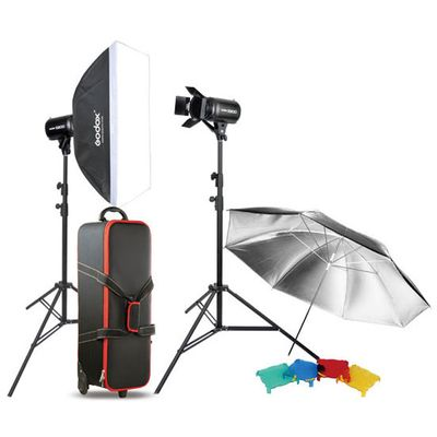 Für weitere Info hier klicken. Artikel: Godox Studio Kit E300-F