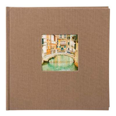 Für weitere Info hier klicken. Artikel: goldbuch Fotoalbum Bella Vista Trend 2 60 weiße Seiten sand