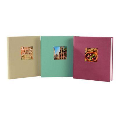 Für weitere Info hier klicken. Artikel: goldbuch Fotoalbum Bella Vista Trend 60 Blatt weiß 30x31 sand