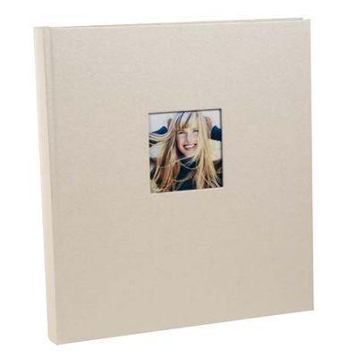 Für weitere Info hier klicken. Artikel: goldbuch Fotoalbum Chromo 30x31 60 schwarze Blätter beige