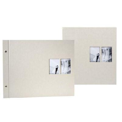 Für weitere Info hier klicken. Artikel: goldbuch Fotoalbum Chromo 30x31 60 weiße Blätter beige