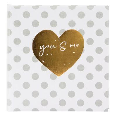 Für weitere Info hier klicken. Artikel: goldbuch Fotoalbum you & me forever 60 weiße Seiten Format 30x31