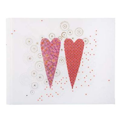 Für weitere Info hier klicken. Artikel: goldbuch Hochzeitsalbum 2 Hearts 30x31 60 weiße Blätter