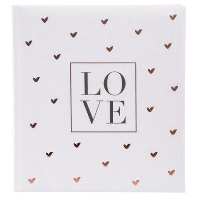 Für weitere Info hier klicken. Artikel: goldbuch Hochzeitsalbum LOVE 60 weiße Seiten Format 30x31