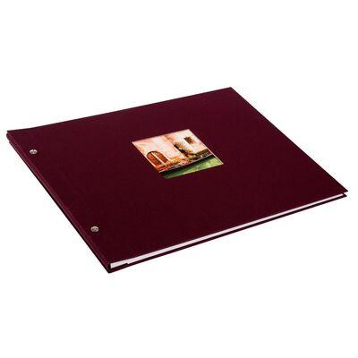 Für weitere Info hier klicken. Artikel: goldbuch Schraubalbum Bella Vista 39x31mm bordeaux