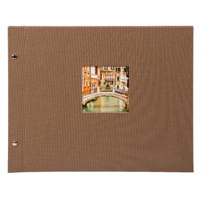 Für weitere Info hier klicken. Artikel: goldbuch Schraubalbum Bella Vista 39x31mm Coffee Bronze