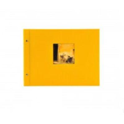 Für weitere Info hier klicken. Artikel: goldbuch Schraubalbum Bella Vista schwarzer Fotokarton 40 Seiten gelb
