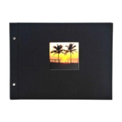 Für weitere Info hier klicken. Artikel: goldbuch Schraubalbum Bella Vista mit Fenster 39x31 40 weiße Seiten schwarz