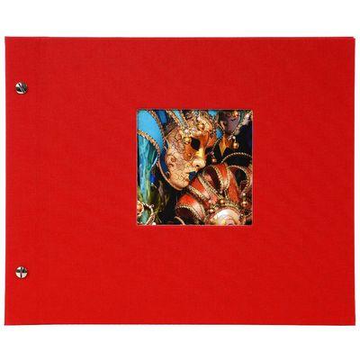 Für weitere Info hier klicken. Artikel: goldbuch Schraubalbum Bella Vista weißer Fotokarton 40 Seiten rot
