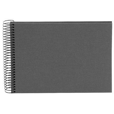 Für weitere Info hier klicken. Artikel: goldbuch Spiralalbum Bella Vista 23x17 40 Schwarze Seiten grau