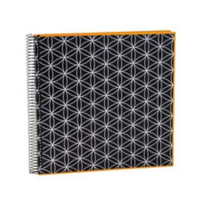 Für weitere Info hier klicken. Artikel: goldbuch Spiralalbum off-line Blumenmuster schwarz gelb